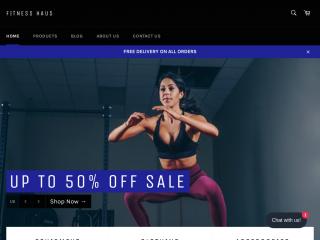 fitnesshaus.co.uk screenshot