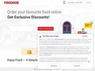 foodhub.co.uk screenshot