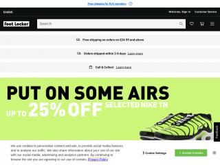 footlocker.co.uk screenshot