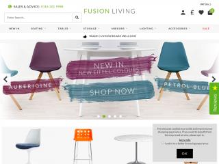 fusionliving.co.uk screenshot