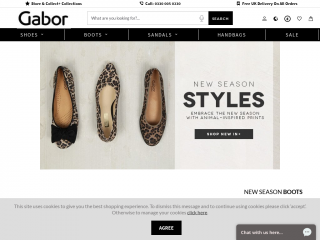 gaborshoes.co.uk screenshot