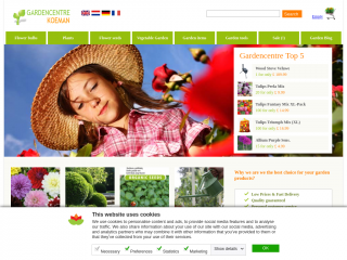 gardencentrekoeman.co.uk screenshot
