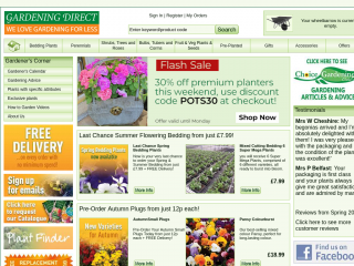 gardeningdirect.co.uk screenshot