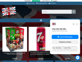 gbgifts.co.uk screenshot