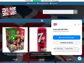 gbgifts.co.uk screenshot