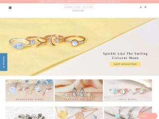 gemstonesilverjewelry.us screenshot