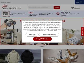 giftdiscoveries.co.uk screenshot