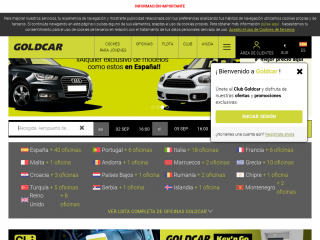 goldcar.es screenshot