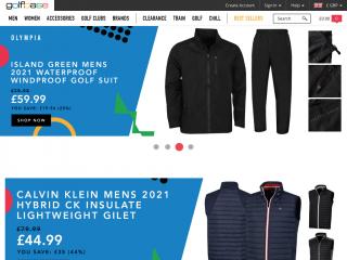 golfbase.co.uk screenshot