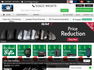 golfgeardirect.co.uk screenshot