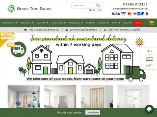 greentreedoors.co.uk screenshot