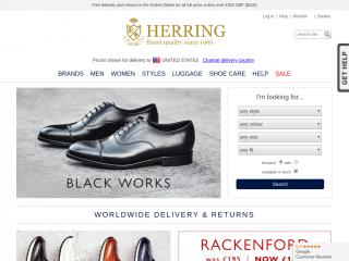 herringshoes.co.uk screenshot