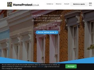 homeprotect.co.uk screenshot
