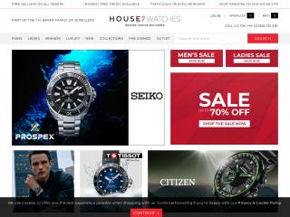 houseofwatches.co.uk screenshot