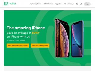 idmobile.co.uk screenshot