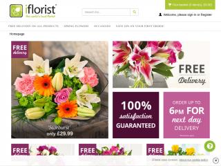 iflorist.co.uk screenshot