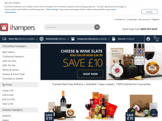 ihampers.co.uk screenshot
