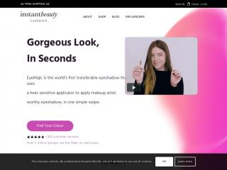 instant-beauty.co.uk screenshot