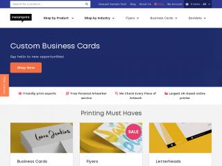 instantprint.co.uk screenshot