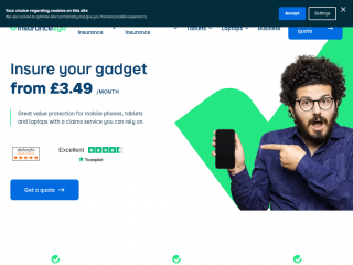 insurance2go.co.uk screenshot