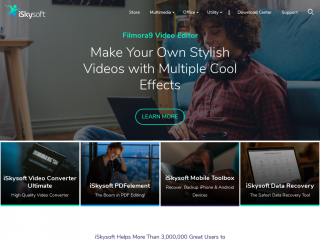 iskysoft.us screenshot