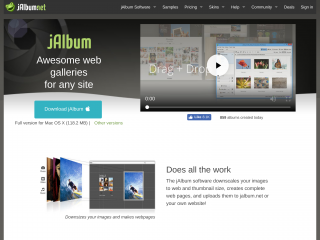 jalbum.net screenshot