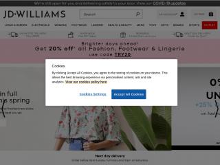 jdwilliams.co.uk screenshot
