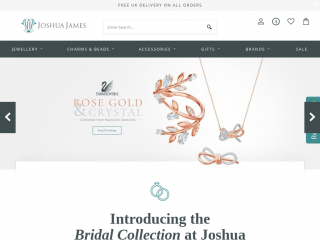 joshuajamesjewellery.co.uk screenshot