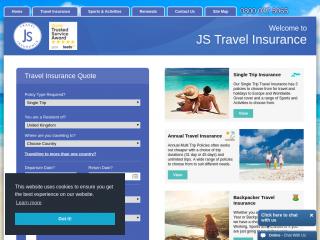 jsinsurance.co.uk screenshot