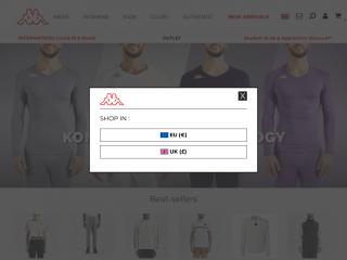 kappastore.co.uk screenshot