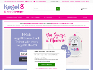 kegel8.co.uk screenshot