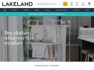 lakeland.co.uk screenshot