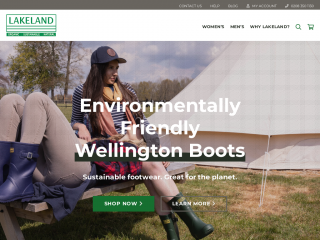 lakelandfootwear.co.uk screenshot