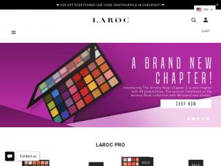 laroccosmetics.co.uk screenshot