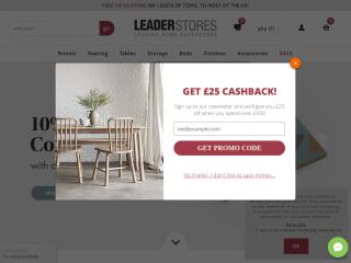 leaderstores.co.uk screenshot