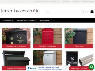 letter-boxes.co.uk screenshot