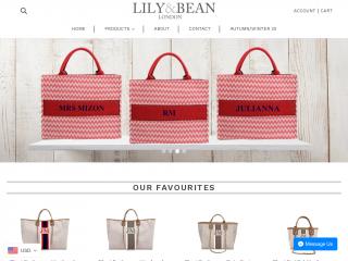 lilyandbean.co.uk screenshot