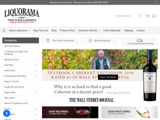 liquorama.net screenshot