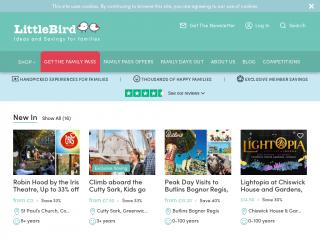 littlebird.co.uk screenshot