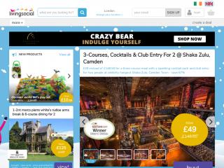 livingsocial.co.uk screenshot