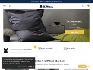 lumaland-beanbag.co.uk screenshot