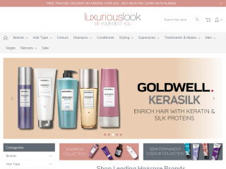 luxuriouslook.co.uk screenshot