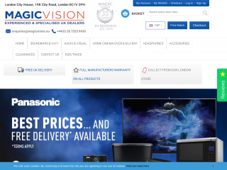 magicvision.eu screenshot