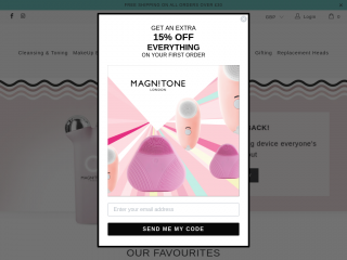 magnitone.co.uk screenshot