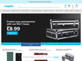maplin.co.uk screenshot