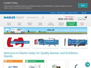 marlerhaley.co.uk screenshot