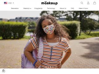 masksup.co screenshot