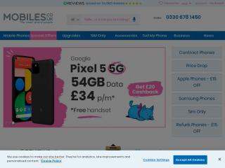 mobiles.co.uk screenshot