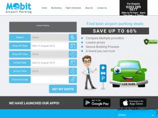 mobitairportparking.co.uk screenshot