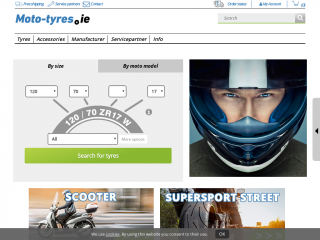 moto-tyres.ie screenshot